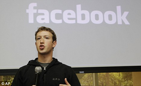 Controversial: Facebook CEO Mark Zuckerberg talks about the social network site's new privacy settings in Palo Alto, California.