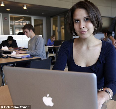 Catherine Cook: The millionaire internet entrepreneur is now a student at Georgetown University