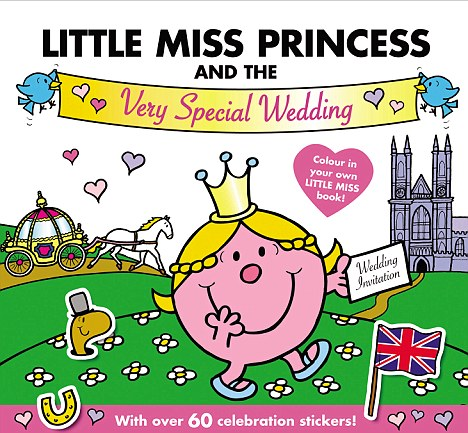 Cover girl: The story book will be accompanied by a colouring book with more than 60 stickers