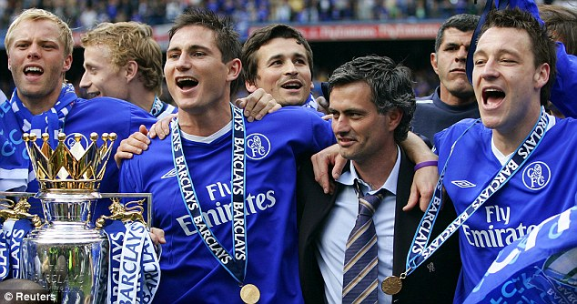 London calling: Former Chelsea manager Mourinho has been linked with a move back to Stamford Bridge