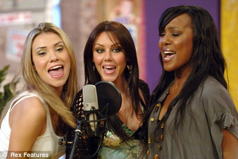 Michelle Heaton and Liberty X bandmates Jessica Taylor and Kelli Young