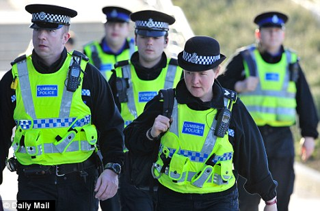 Pay freeze: With a major review due on Tuesday, the police could have their pay frozen