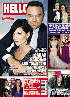 The full interview appears in Hello! magazine, out now
