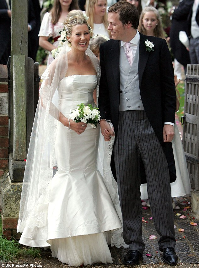 The wedding of Tom Parker Bowles and Sarah Buys
