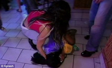 Impact: Snooki falls to the floor after the punch, which was omitted from the episode but circulated around the internet