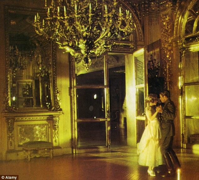 Opulent lifestyle: Mia Farrow as Daisy dances with Robert Redford as Gatsby. Lands End was the scene of lavish parties in the 1920s and 30s