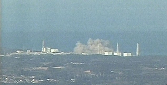 Radiation: Levels around the plant have already reached 20 times normal and there were fears the reactor could meltdown