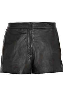Stephenson leather shorts, $1,200, The Row at net-a-porter.com
