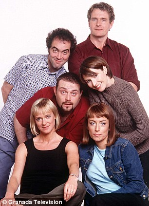 James's big break came in Cold Feet which ran for five series