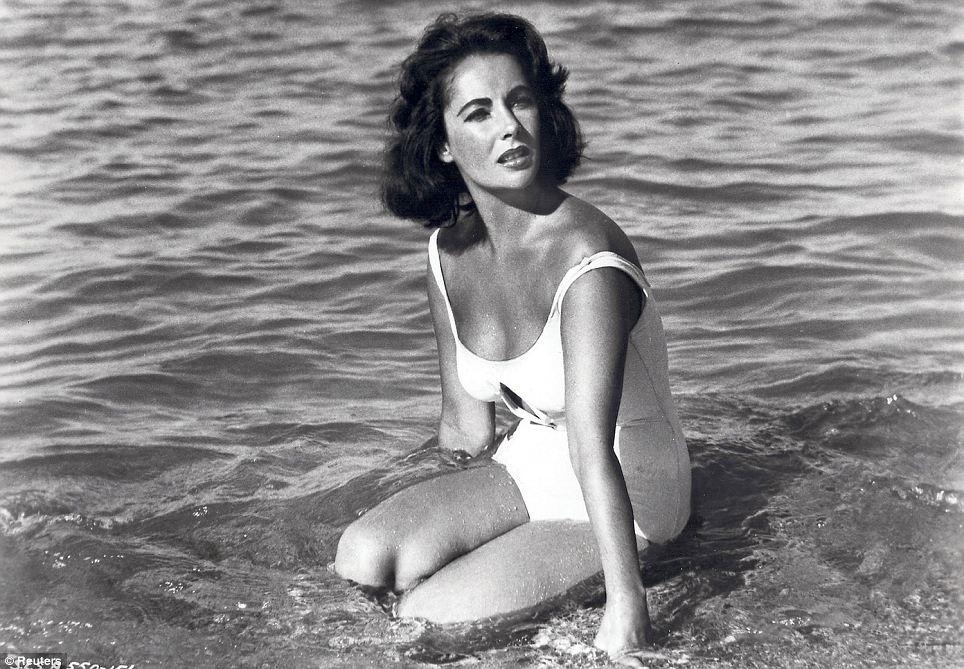 Bathing beauty: Elizabeth Taylor in a scene from the 1959 film Suddenly Last Summer