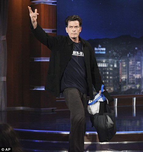 Closed door: Reports that Sheen may be returning to the cast of Two and a Half Men have been denied by sources close to the production of the show