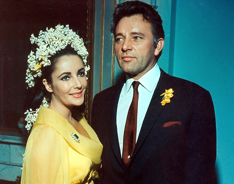 The great love of her life: Elizabeth married Richard Burton twice, from 1963-74, and then from 1975-1976
