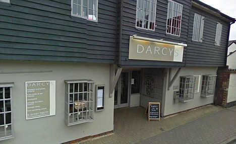An unnamed baby died after a marshmallow, which had been in a hot chocolate, expanded in his throat and suffocated him at Darcy's in St Albans