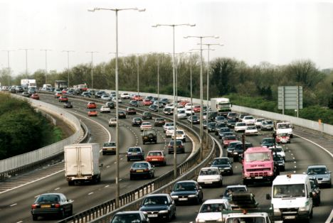 Congestion on roads across Britain has dropped dramatically over the past three-and-a-half years as cash-strapped motorists leave their cars at home