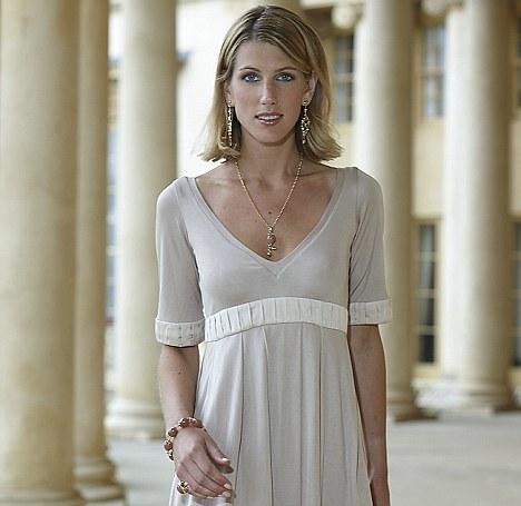 Great legs: Susanna Warren is the daughter of bloodstock agent John Warren