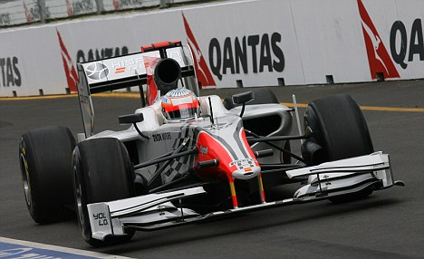 Sidelined: Narain Karthikeyan will have to wait for Malaysian Grand Prix