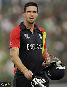 Future boy? KP's one-day career is in doubt