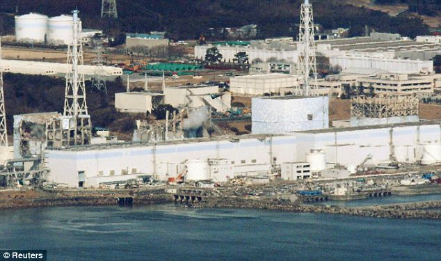 Evacuation: A TEPCO official said that workers at the reactor had left to prevent exposure to radiation
