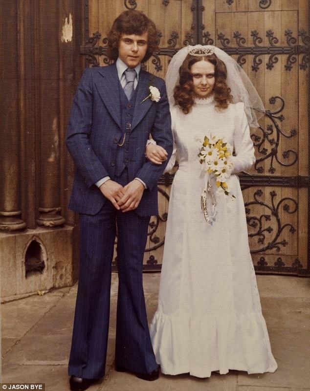 Under pressure: Diane Pulford married Tom in 1977