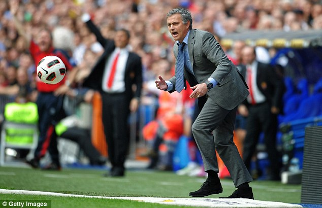 No way, Jose: Mourinho suffered his first home league defeat for nine years at the hands of Sporting Gijon