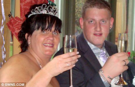'Wonderful': Sharon Broadley on her wedding day to Darryl Broadley