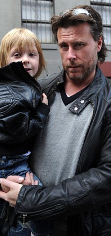 Tori and Dean in New York: The couple who have their own reality show were very attentive to their two young ones