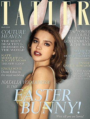 The May issue of Tatler is out now