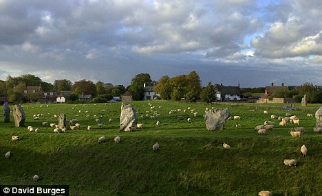 Ritual: Dobney leads the annual Summer Solstice celebrations by the pre-historic Avebury stone circle in Wiltshire