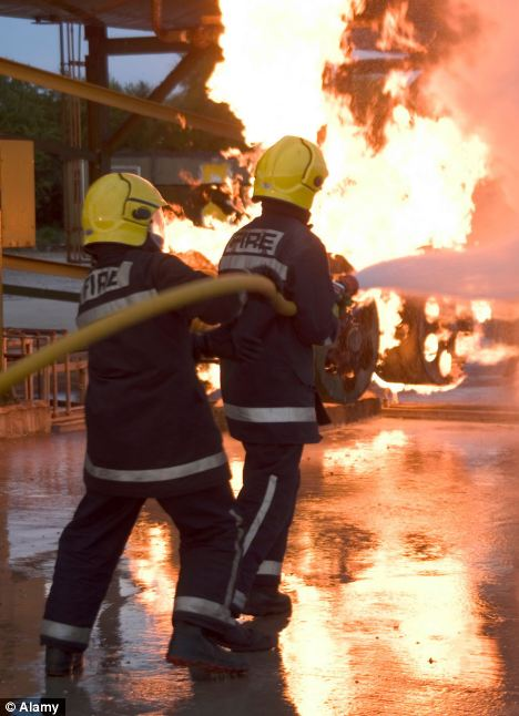 Firemen will be allowed to perform 'heroic' acts without fear of repercussions from health and safety laws