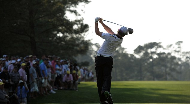 Leading from the front: McIlroy has lead at the end of each day's play