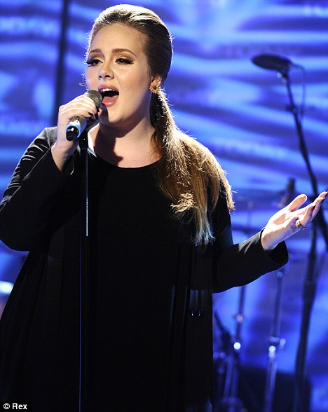 Emotional: Adele's album 21 was inspired by a relationship breakdown