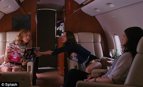 VIP treatment: The trio are whisked away to Monte Carlo as Selena's character pretends to be someone she's not