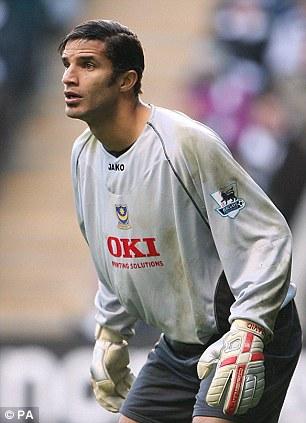 Back in time: Goalkeeper David James