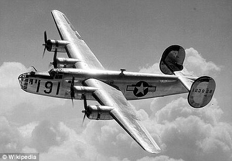 Vanished: The B-24 Liberator plane - and its 12 crew - disappeared without trace during a reconnaissance mission over the South Pacific