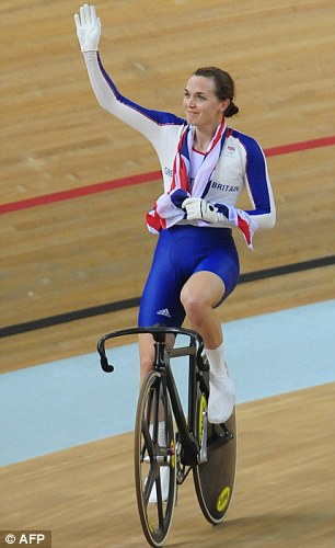 Success: Pendleton is hoping to recreate her success at the London Olympics next year