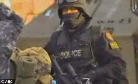 Godboldo now faces multiple criminal charges after a 10-hour stand-off with a police SWAT team