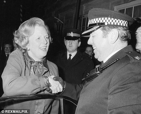Testing time: The riots represented the first major test of Margaret Thatcher's first administration.