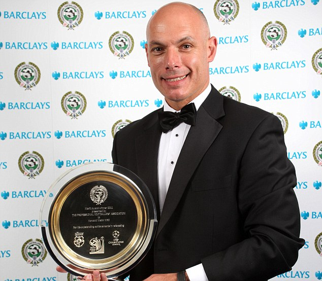 Special Merit: Howard Webb refereed the World Cup Final in 2010