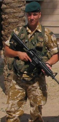 L/Cpl Matt Croucher had received his George Cross after throwing his body on a Taliban grenade