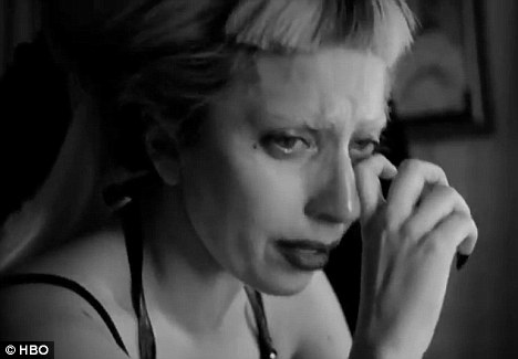 Tears of torment: Lady Gaga breaks down as she discusses her responsibility to her loyal fans, or Little Monsters as she calls them