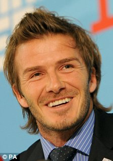 Hot or not: Men with more feminine faces include Jude Law and David Beckham