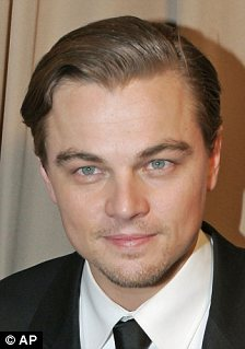 Hot boys: Film stars Leonardo DiCaprio and Zac Efron