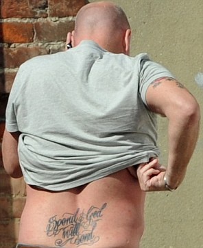Gary Goldsmith, the controversial uncle of Kate Middleton, has a new tattoo