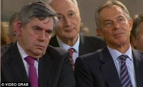 We are not amused: Gordon Brown and Tony Blair have not been invited but some other rather unsavoury characters have