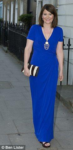 Evening: Issa dress £679, Fenwick, 0207 629 916, Shoes, £70, aldoshoes.com, Necklace £25, made.uk.com
