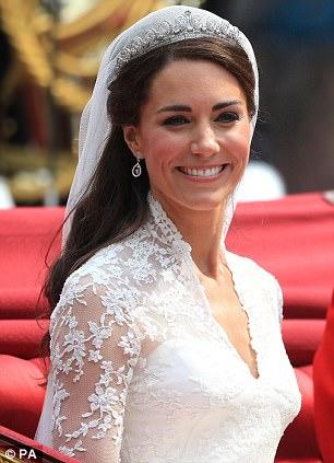 Prince William's bride Kat