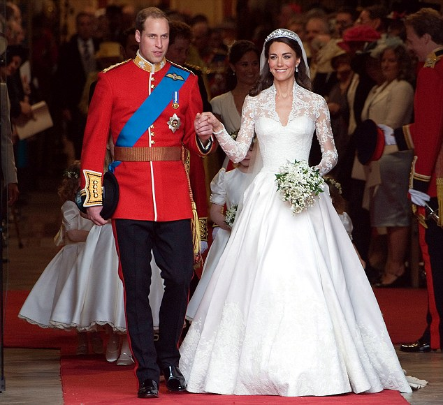 Their love for each other was evident, but there were tears of regret that Diana was not there to bear witness to this love