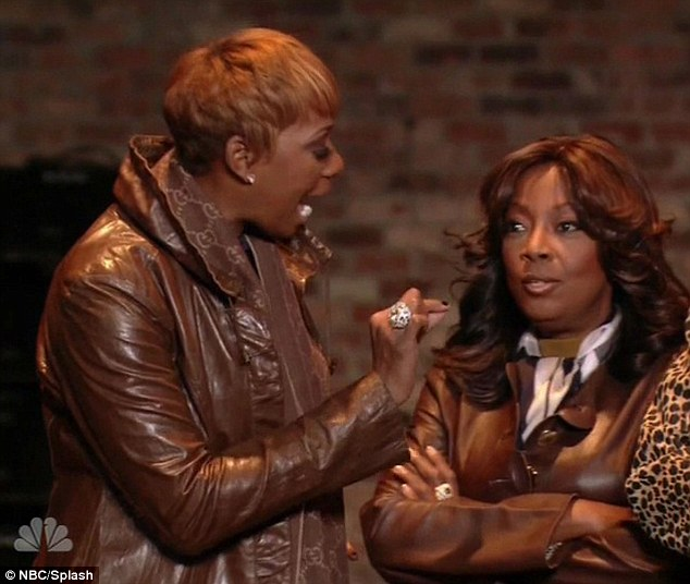Explosive: Tensions between NeNe Leakes and Star Jones finally boiled over in the most shocking episode of Celebrity Apprentice this season