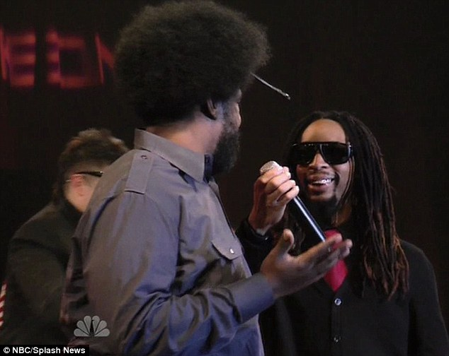 Winners: The men's team won the challenge, thanks to Lil Jon's leadership and help from his celebrity friends, including musician Questlove of The Roots