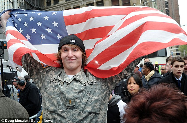 First it was crowds of young outside the White House, in New York¿s Times Square and down at the site of the World Trade Centre. Then the triumphalist mood was echoed in the U.S. media